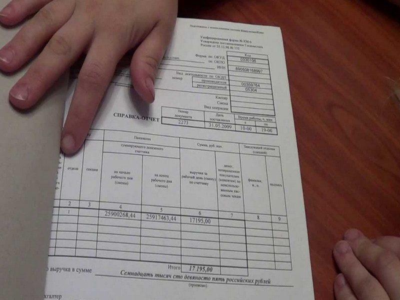 Подшивка Z-отчетов
